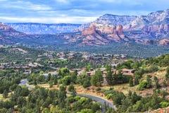 Landschap van Sedona, Arizona, de V.S. Stock Afbeeldingen
