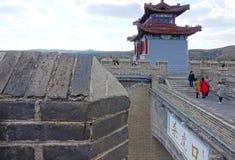 Landschap van Shanhu-Pas stock fotografie