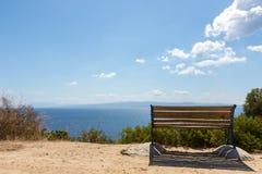 Landschap van Skiathos Royalty-vrije Stock Foto's