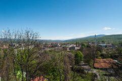 Landschap van stad royalty-vrije stock foto