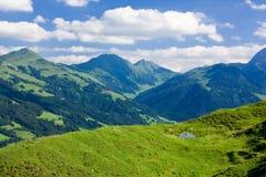 Landschap van Tirol, Oostenrijk Royalty-vrije Stock Afbeeldingen