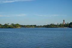 Landschap van Tokiwa-Park Stock Afbeeldingen