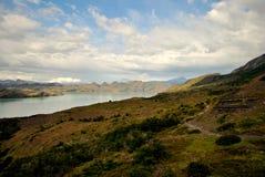 Landschap van Torres del Paine Royalty-vrije Stock Afbeeldingen
