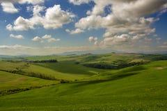 Landschap van Toscaans platteland Royalty-vrije Stock Foto