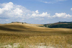 Landschap van Toscanië Stock Foto's