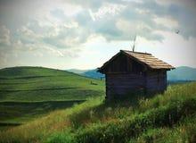 Landschap van Transsylvanië Stock Foto's