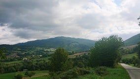 Landschap van Valmarrechia Italië royalty-vrije stock afbeeldingen