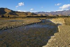 Landschap van Westelijk China Stock Afbeelding