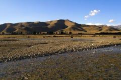Landschap van Westelijk China Royalty-vrije Stock Foto