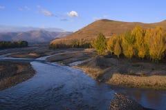 Landschap van Westelijk China Royalty-vrije Stock Afbeeldingen
