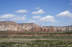 Landschap van Westelijk New Mexico royalty-vrije stock fotografie