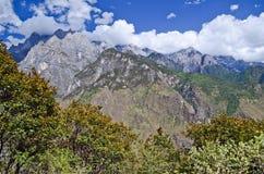 Landschap van Yunnan China Royalty-vrije Stock Afbeelding