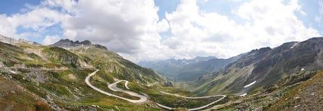 Landschap van Zwitserse berg Stock Foto