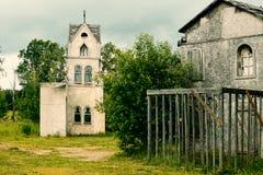 Landschap voor historische middeleeuwse films royalty-vrije stock foto's