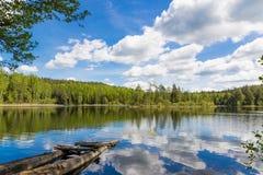 Landschap in Wit-Rusland Royalty-vrije Stock Afbeelding