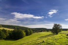 Landschap Wolfersdorf Royalty-vrije Stock Foto's