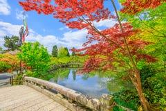 Landschap Zenrin -zenrin-ji stock afbeeldingen
