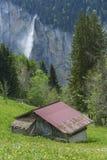 Landschap in Zwitserland Stock Foto
