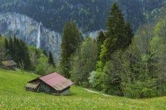 Landschap in Zwitserland Royalty-vrije Stock Foto