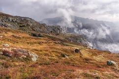 Landschappen in bergen noorwegen royalty-vrije stock fotografie