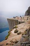 Landschappen in bergen Verbazende rots royalty-vrije stock afbeeldingen