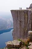 Landschappen in bergen Verbazende rots royalty-vrije stock foto's