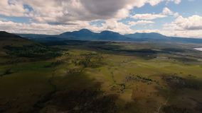 Landschappen bij het Nationale Park van Canaima in Zuid-Amerika stock video