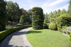 Landschappen in Dallas Arboretum royalty-vrije stock fotografie