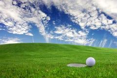 Landschappen - golf Royalty-vrije Stock Afbeeldingen