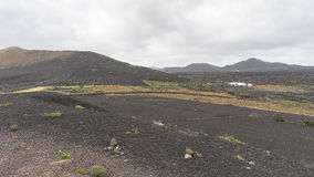 Landschappen in Lanzarote Royalty-vrije Stock Foto