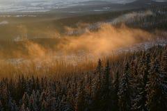 Landschappen in Slowakije Stock Afbeeldingen