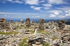 Landschappen van Bergen Altai. Royalty-vrije Stock Afbeeldingen
