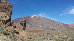 landschappen van Canadas del Teide Stock Foto's