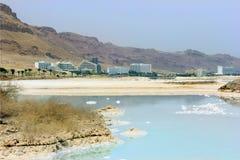 Landschappen van het Dode Overzees Stock Afbeeldingen