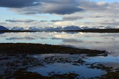 Landschappen van Svalbard/Spitsbergen royalty-vrije stock foto