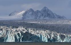Landschappen van Svalbard/Spitsbergen stock foto