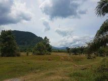 Landschaps Zuid-Thailand royalty-vrije stock afbeeldingen