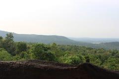 Landschapsaard op de berg Stock Foto