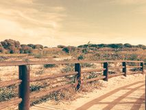 Landschapsbrug Royalty-vrije Stock Fotografie