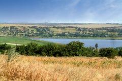 Landschapsfoto van het platteland Royalty-vrije Stock Foto