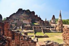 Landschapsgeschiedenis in Thailand Royalty-vrije Stock Afbeelding