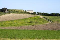 Landschapsland Royalty-vrije Stock Fotografie
