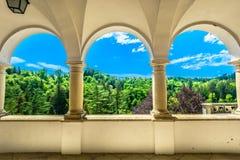 Landschapslandschap in Kroatië, Trakoscan Stock Afbeelding