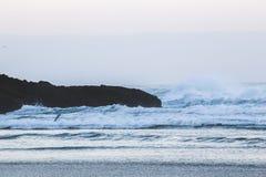 Landschapsmening over de kust van Oregon Royalty-vrije Stock Afbeeldingen