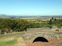 Landschapsmening van Atherton, Queensland van Hallorans-het Park van het Heuvelbehoud Royalty-vrije Stock Fotografie