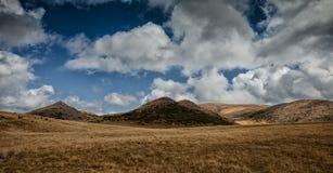 Landschapsmening van Bistra-Berg Stock Foto