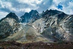 Landschapsmening van de waaier van Himalayagebergte in zanskar leh ladakh India Royalty-vrije Stock Fotografie