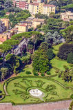 Landschapsmening van Park Rome Royalty-vrije Stock Foto's