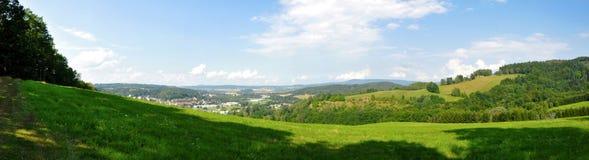 Landschapspanorama Royalty-vrije Stock Afbeelding