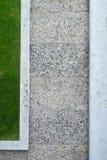 Landschapstuin op dak Royalty-vrije Stock Foto's